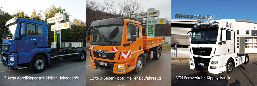 Unser Mietfuhrpark bei der Zapp GmbH